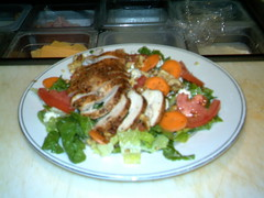 outback salad (newmooncafe) Tags: chicken salad gorgonzola