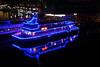 The Good Time Party Boat (Brian Aslak) Tags: blue light water night evening boat sydney australia nsw newsouthwales darlingharbour öö goodtime