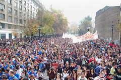 Movilización estudiantil 12 de mayo en Stgo. por mauricio días