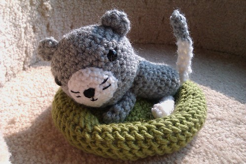 little kitten 5june11A by KnitterinProgress