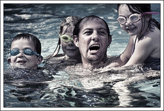 Attack! (BJRainbow) Tags: pool swimming coast candid goggles qld queensland swimmer noosa swimmers sweep sunshinecoast sequeensland tewantin unanimous flickrchallengegroup flickrchallengewinner chosenchallengers thechallengefactory challengefactory challengefactoryunanimous