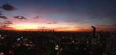 Por do Sol (guiceccatto) Tags: sunset pordosol sky paran skyline buildings cu curitiba nuvens cwb prdios