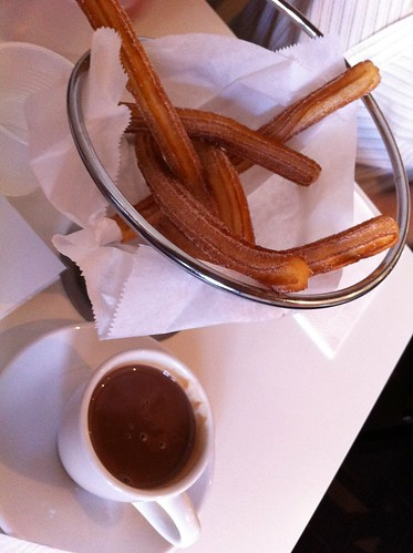 Life: Churros con Chocolate In My Tummy Make Me Happy! by Sanctuary-Studio