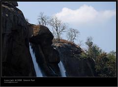 falls with clouds (Smevin Paul) Tags: india paul photography nikon photos kerala contact 1855 thrissur trichur athirappilly kuriachira smevin smevinpaul d40x trisoor malayalikkoottam smevins thrisookaran kfm3