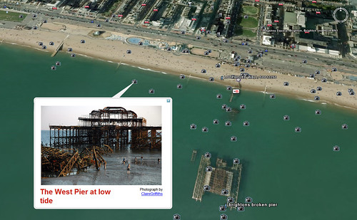Google Earth at the West Pier