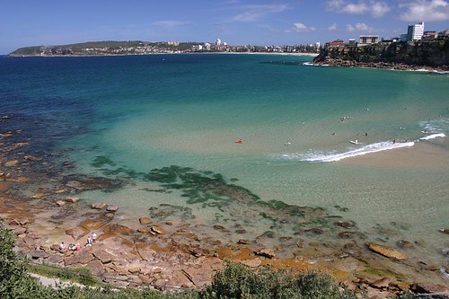 Queenscliff Beach, north of Manly.