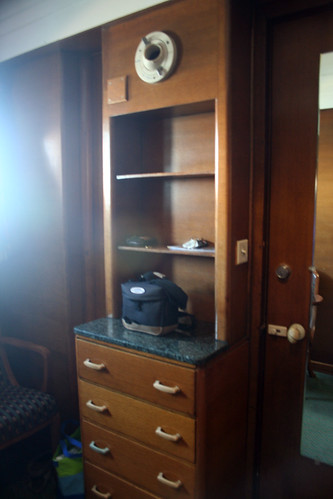 Drawers and Connecting Door