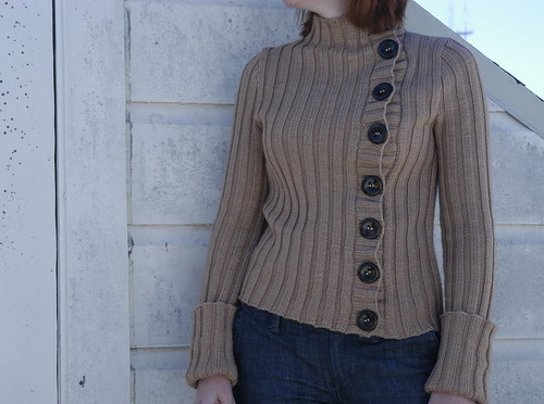 Phildar Asymmetrical Sweater
