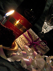 Champagne Wishes (d_rod) Tags: party candle anniversary champagne celebration gift drod macromonday