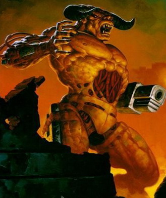 Cyberdemon form the Original Doom Game