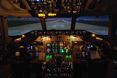 Delta Air Lines McDonnell Douglas MD-90 (N903DA)  **Simulator** (Michael Davis Photography) Tags: atlanta airplane photography aviation flight jet simulator runway flightsimulator mcdonnelldouglas deltaairlines md90 katl md90simulator n903da