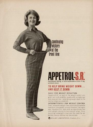amphetamine women line ad