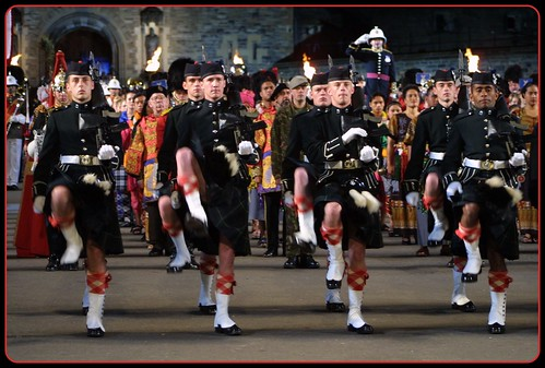 Edinburgh Military Tattoo Finale 2002 by FotoFling Scotland