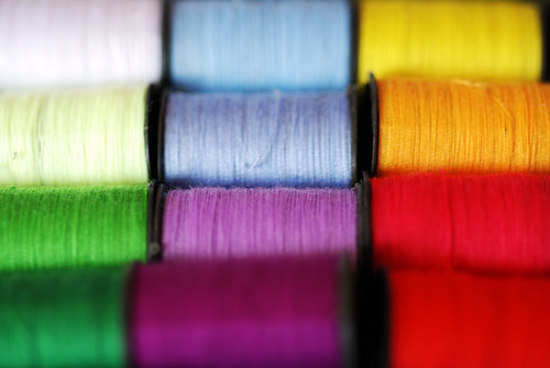 Colourful Cotton Thread