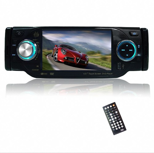 1 DIN DVD Player + 4 Inch Touch screen + Bluetooth + TV + RDS