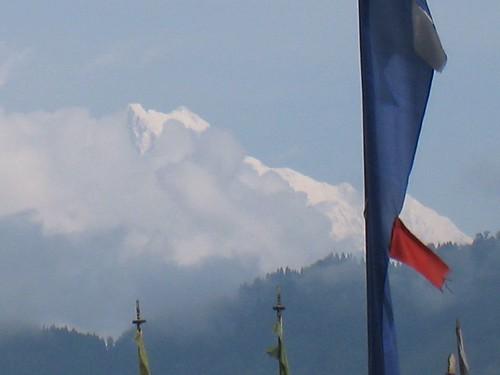 Mt Kanchenjunga from Gangtok