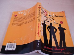 30 May 08 The 3 Mistakes Of My Life by Chetan Bhagat (black_coffee_blue_jeans) Tags: fiction india reading book reader indian review books bookshelf hobby read shelf cover novel covers bookcover hobbies bookshelves shelves bookcovers reviews chetan novels bhagat bookreview bookreviews chetanbhagat