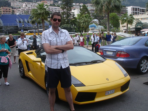 Ed arrives at Monte Carlo.