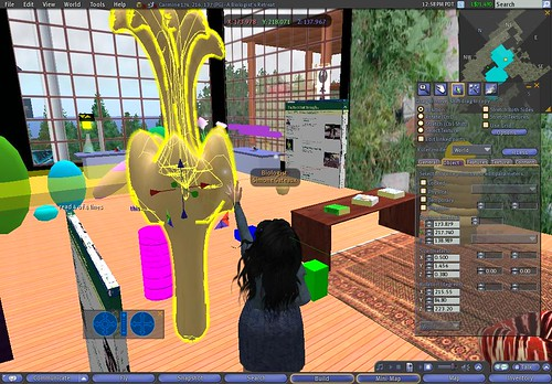 At work in Second LIfe