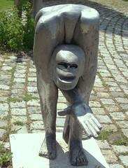 Bettler (ernst_raser) Tags: art hand sculptures begger donauinsel skulpturen bettler donauradwanderweg herberttraub