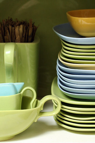 1. I collect green dishes
