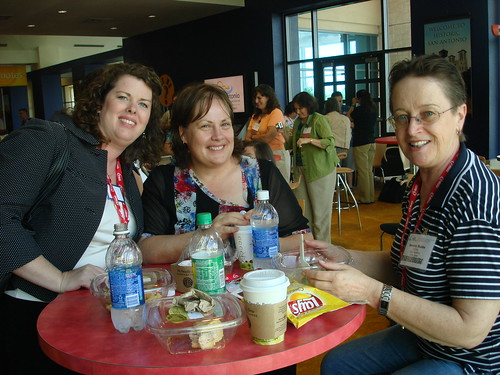 Vicki, Jo and Beverley