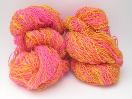 Tropical Easter yarn