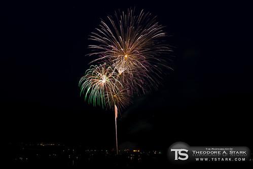 Lake Dillon Fireworks - 1