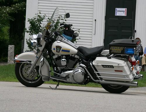 Amherst Police Bike