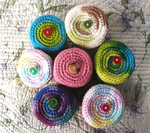 Cotton Crochet Pots