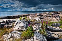 Dark horizon II (Rob Orthen) Tags: sea summer sky storm clouds suomi finland landscape nikon europe rob scandinavia meri maisema stormclouds archipelago kes d300 gnd porkkala 175528 leefilter orthen roborthenphotography