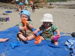 IMG_0756 (86queensgate) Tags: baby beach luke lukefoster oregonjune2008