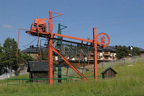 Ski lift, Port del Comte
