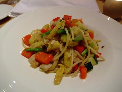 Bruner Cafe - 義式蔬菜義大利麵