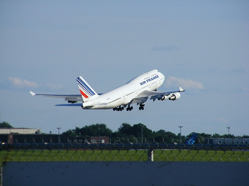 air france boeing 747 @ YUL