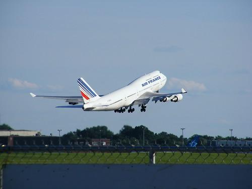 air france boeing 747 @ YUL