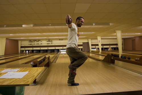 Candlepin Bowling in Maine | Kendrick Disch