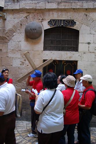 Via Dolorosa,  יְרוּשָׁלַיִם Jerusalem 耶路撒冷