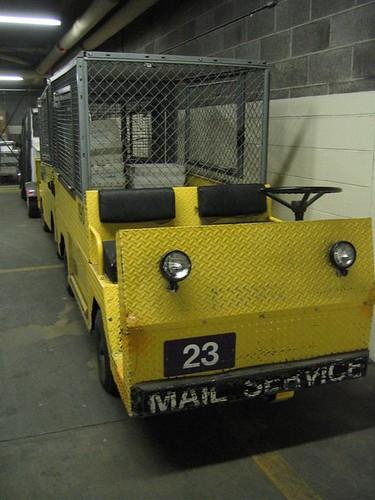 Austin Powers motorized carts