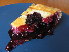 Blueberry Pie - Slice