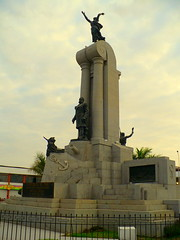 Monument in the city of Piura