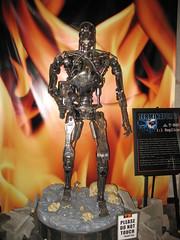 endoskeleton (darth_meza) Tags: hollywood terminator universalstudios t2 t800 endoskeleton