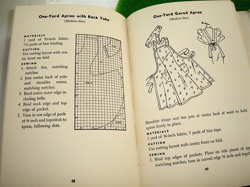 How To Make Aprons Book