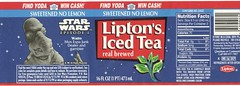 Lipton's Sweetened Iced Tea -- Star Wars Episode I promo -- Watto (Paxton Holley) Tags: promotion movie starwars bottle tea drinks soda beverages lipton obiwankenobi georgelucas watto episodei softdrinks tiein phantommenace