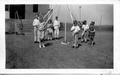 Vintage Maypole photograph