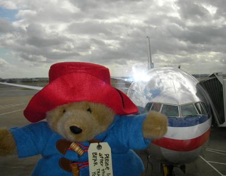 Paddington's Plane