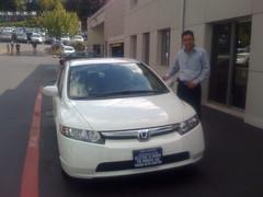 My new 2008 Honda Civic Hybrid