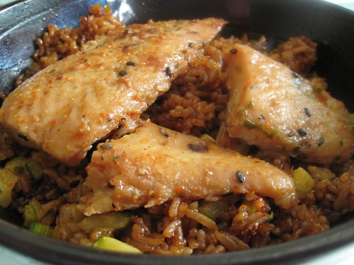 Fish with Fried Rice 2