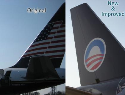 Obama's Paint Job