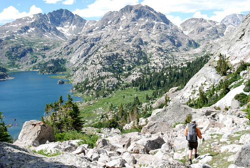 Angel Pass to Cook Lakes